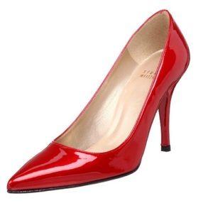 Stuart Weizmann Daisy Red Quasar Heels